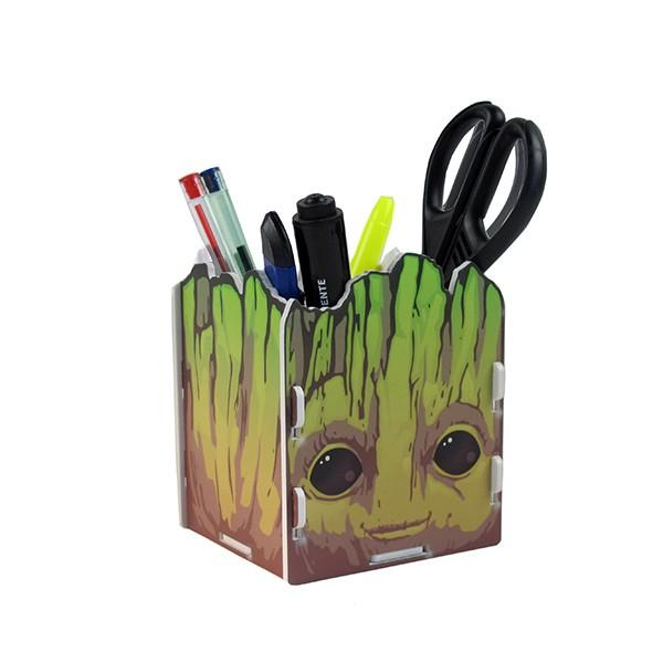 Porta Treco Formato Baby Groot Guardiões da Galaxia