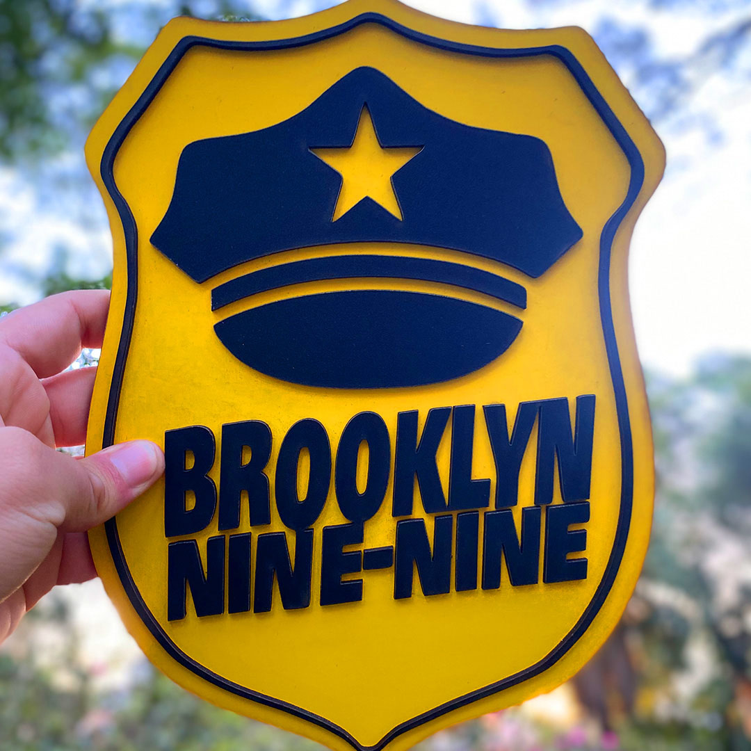 Quadro Brooklyn Nine Nine Alto Relevo
