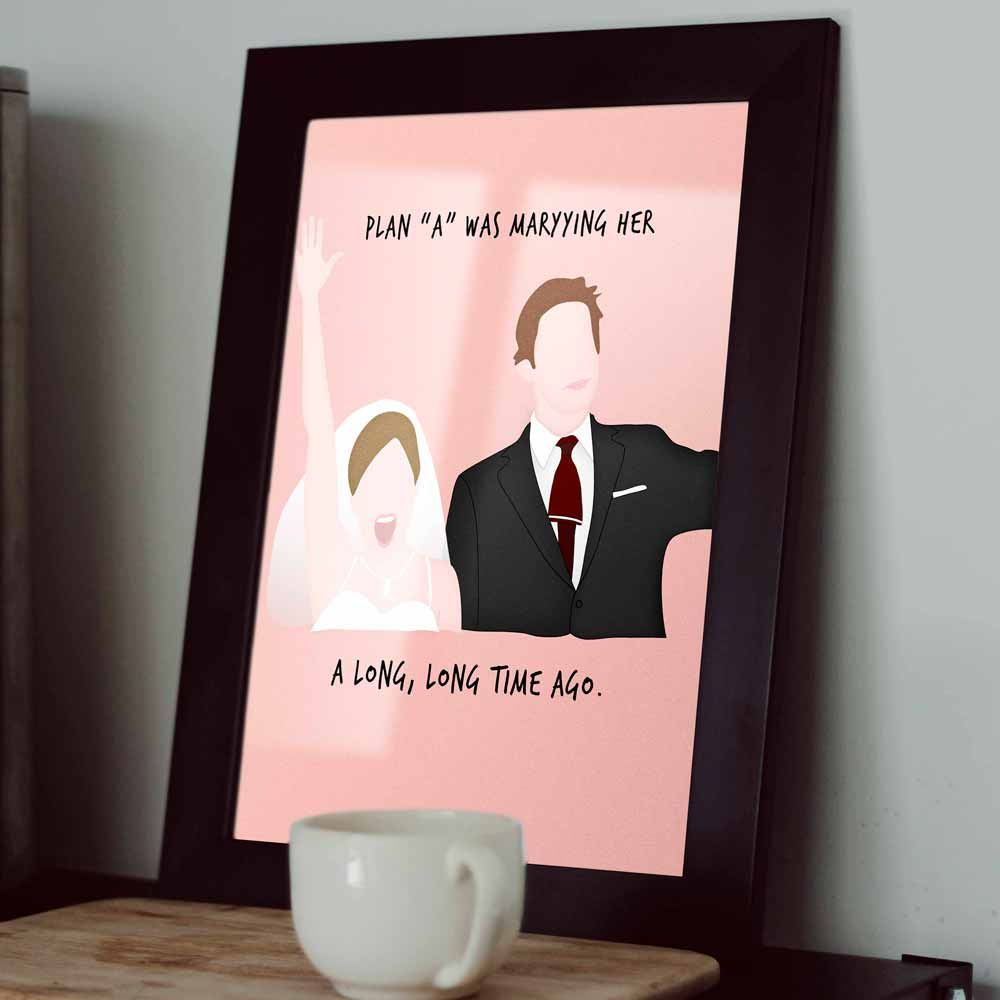 Quadro Casamento Pam e Jim Niagara