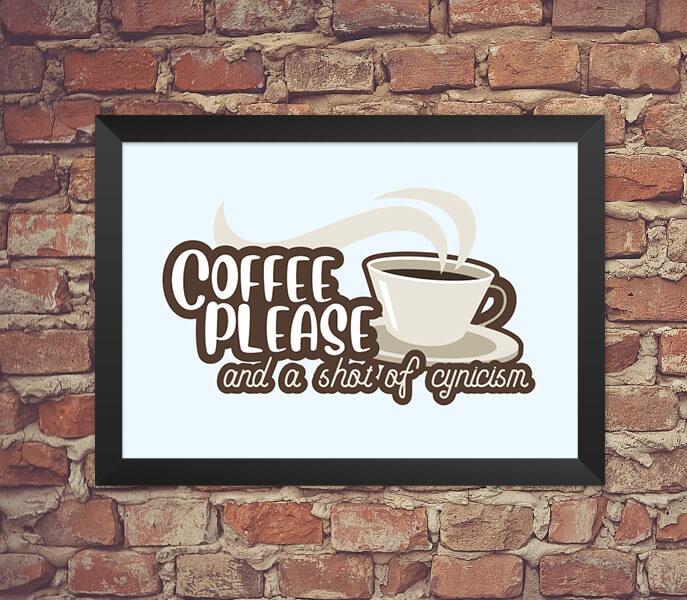 Quadro Coffe Please