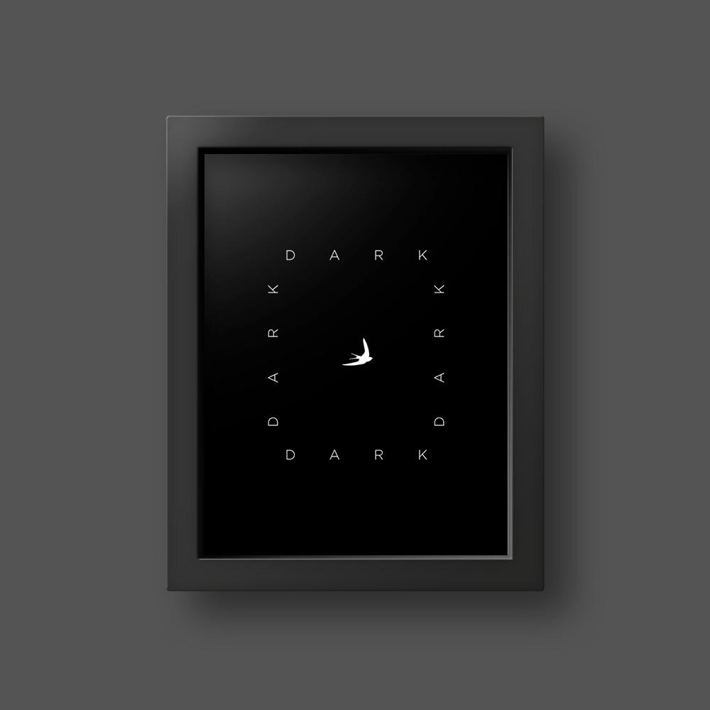 Quadro Dark Abstract