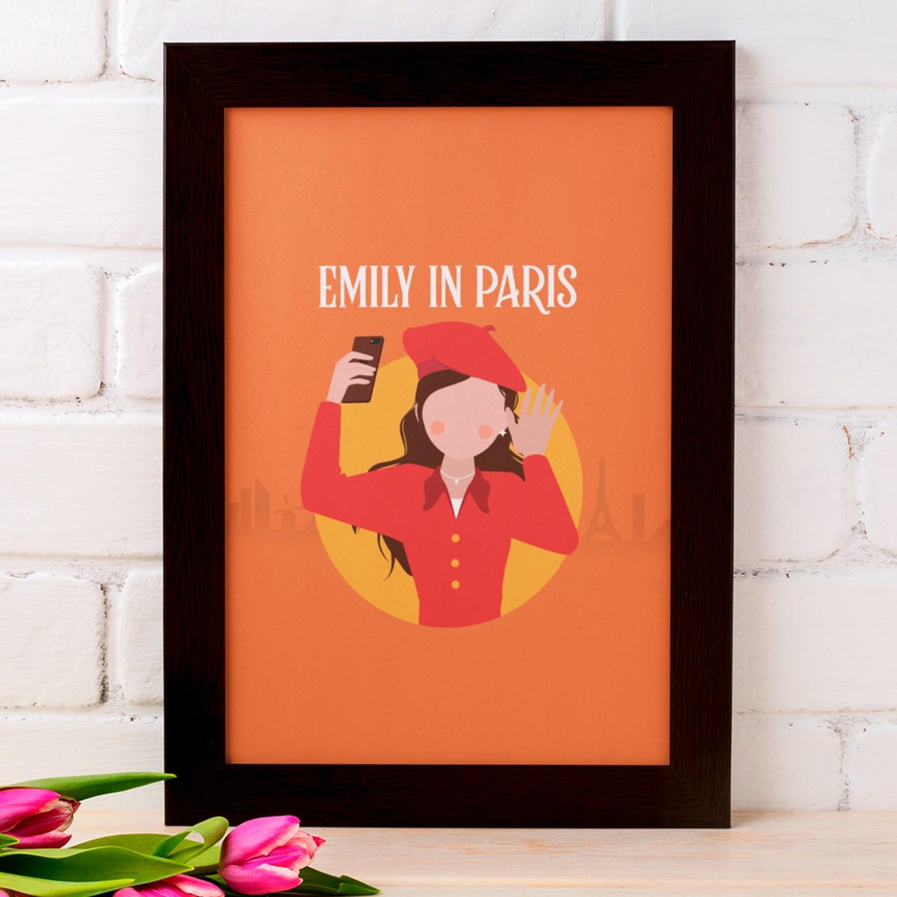 Quadro Emily em Paris