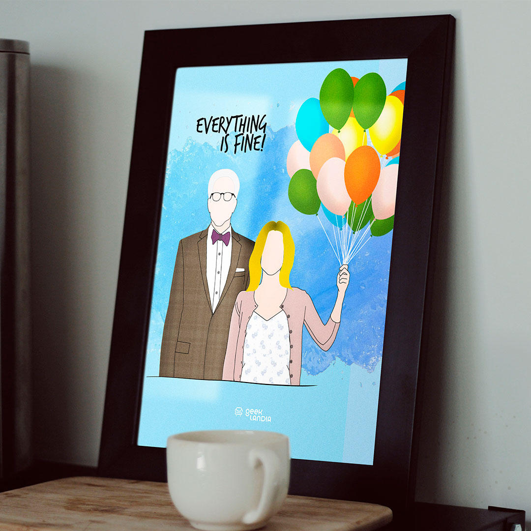 Quadro Everything is Fine The Good Place