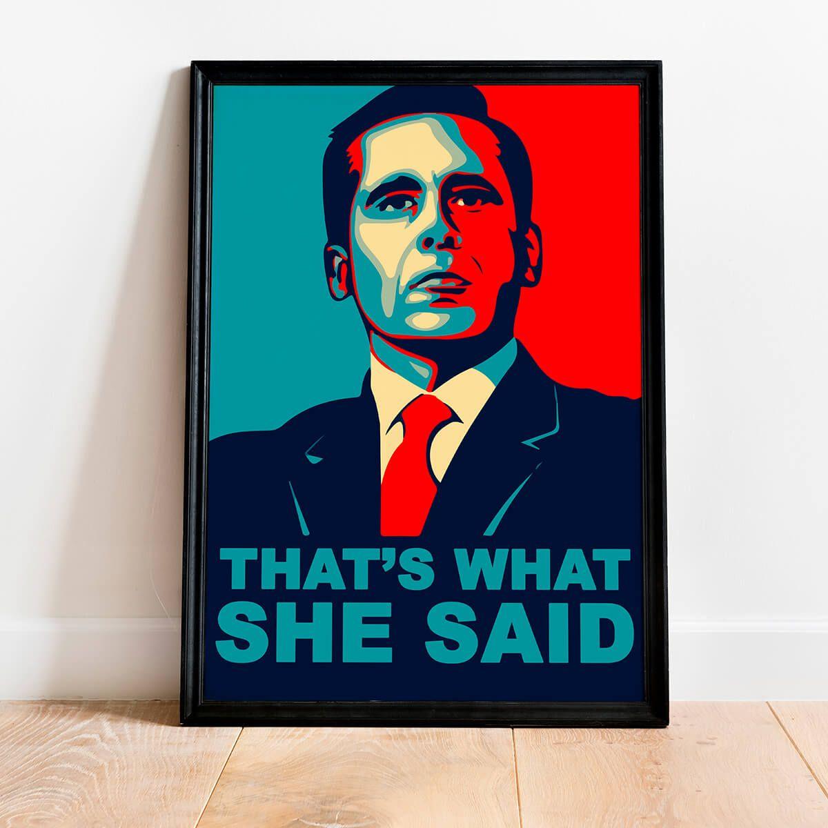 Quadro Foi o que ela disse