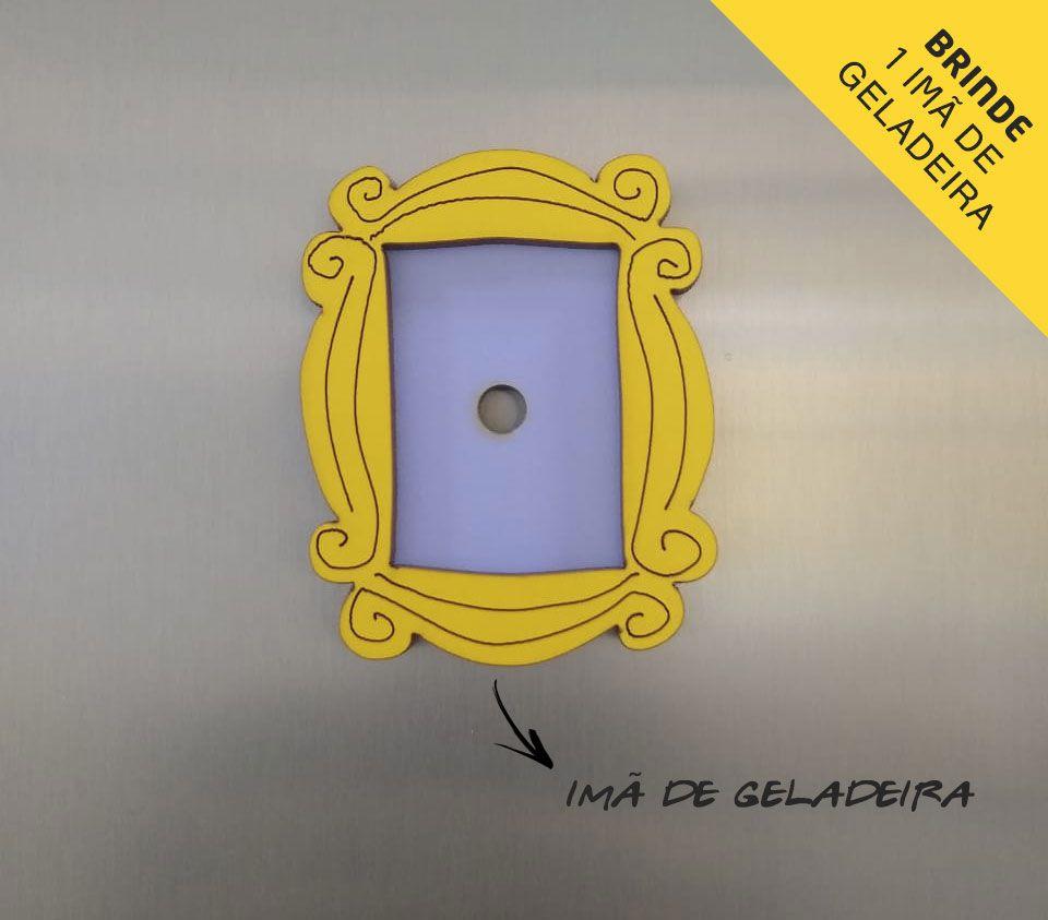 Quadro Moldura 3d Alto Relevo + Imã