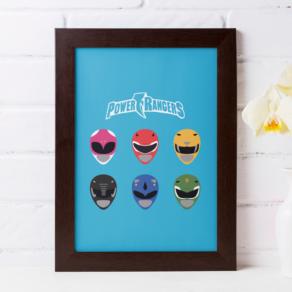 Quadro Power Rangers
