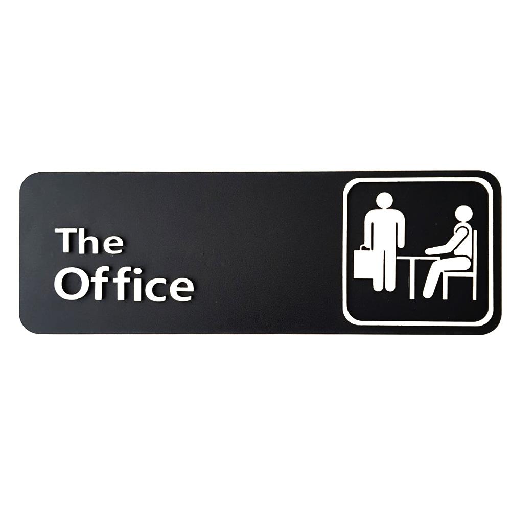 Quadro The Office Placa Alto Relevo