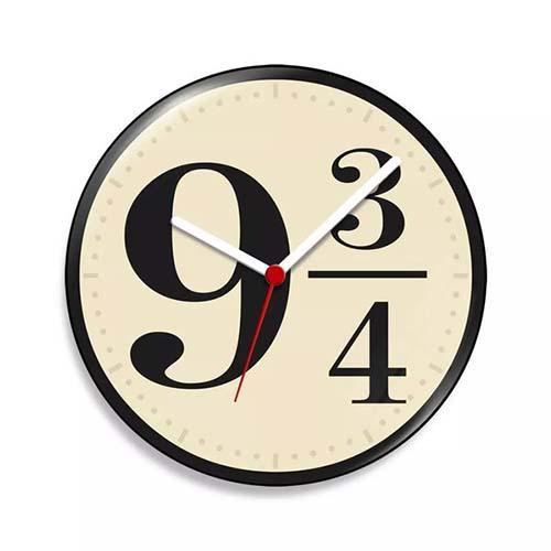 Relógio de Parede Hogwarts Express Harry Potter- 20 cm