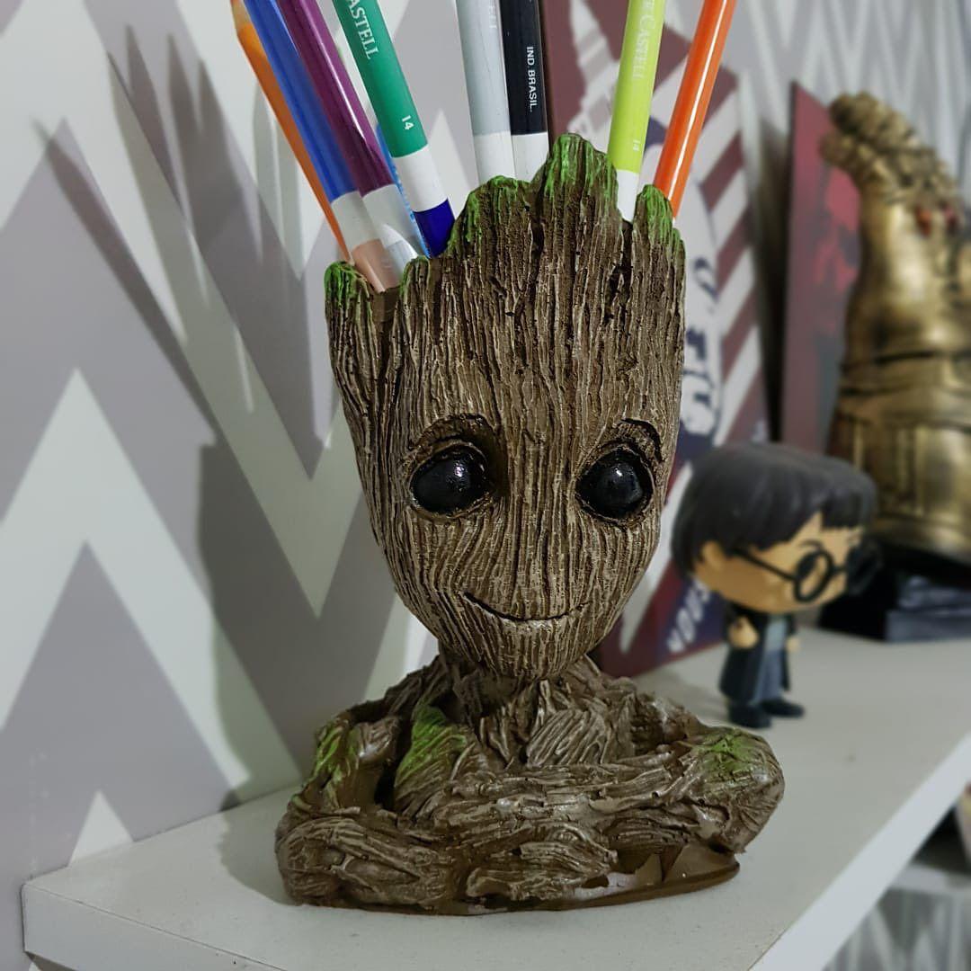Vaso de Planta Baby Groot : Guardiões da Galáxia