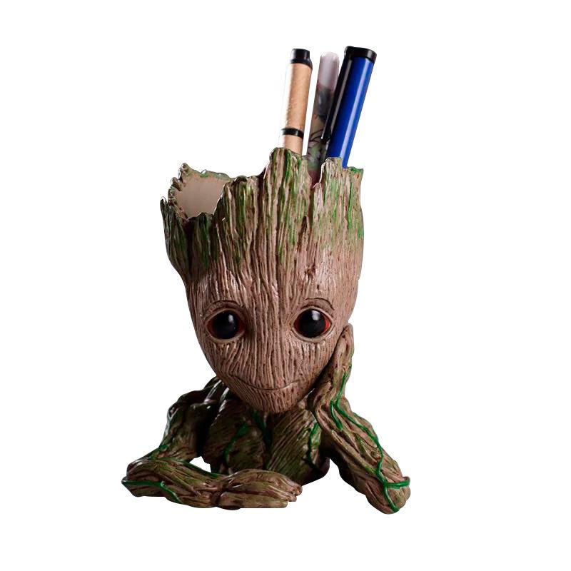 Vaso de Planta Porta Treco Baby Groot Guardiões da Galáxia