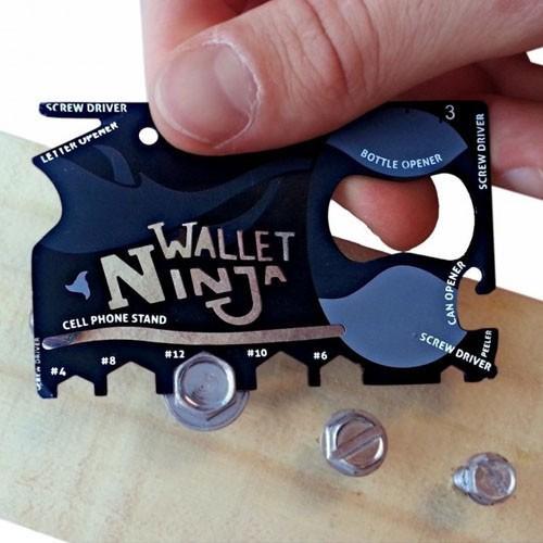 Wallet Ninja 18 funçoes em 1