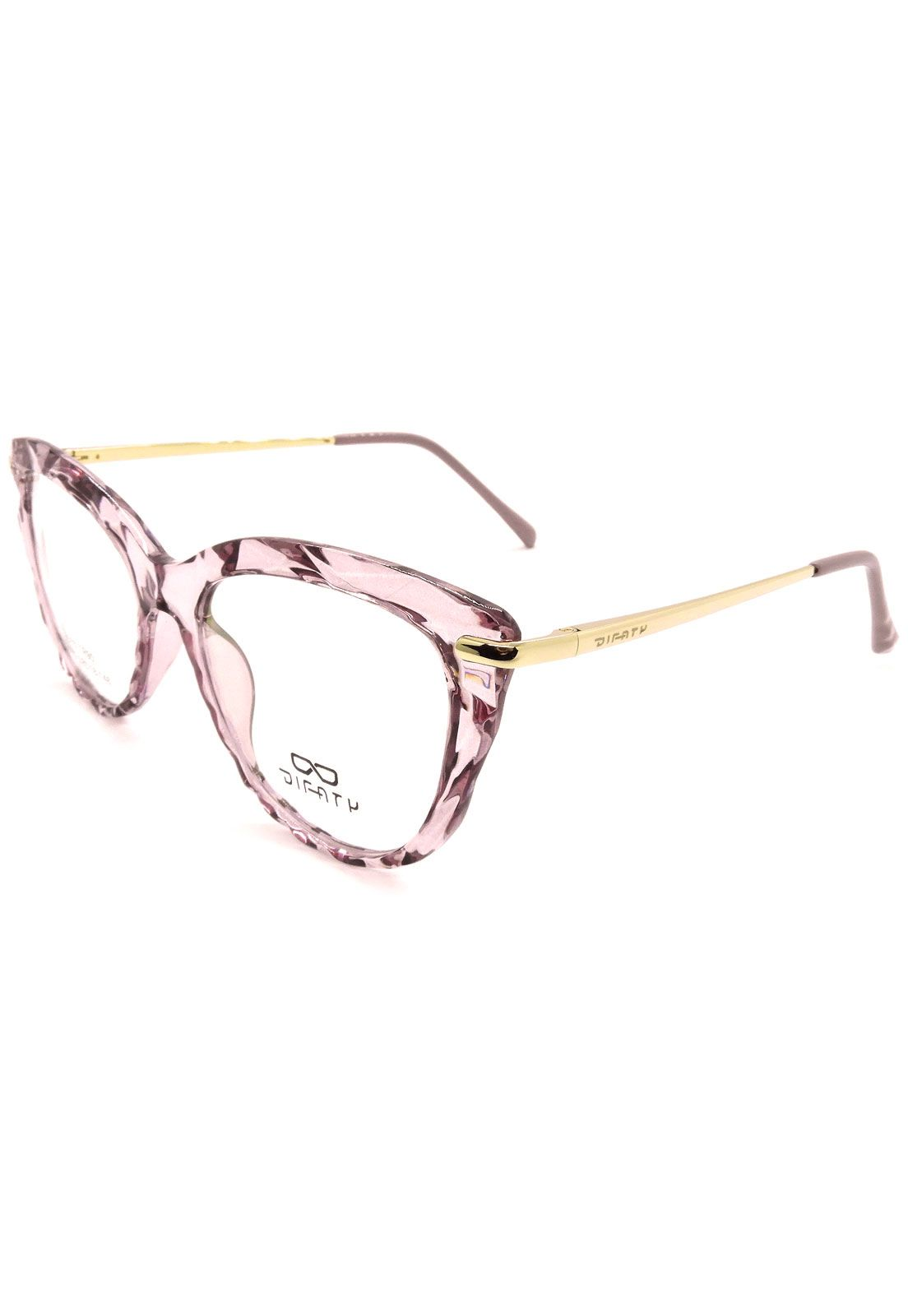 Armação de Acetato 681015 c2 rosa