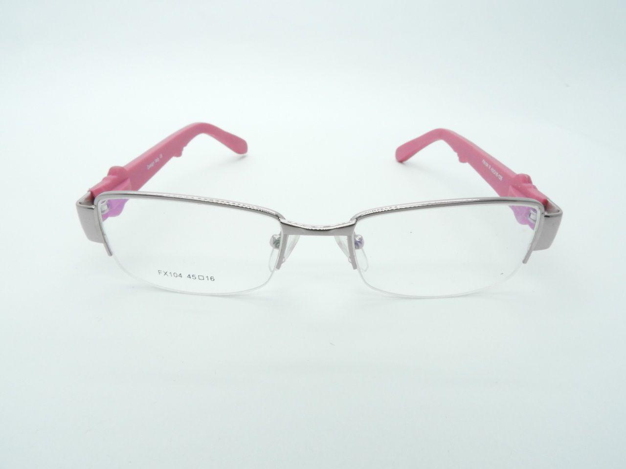 Armação Feminina Infantil FX104  rosa