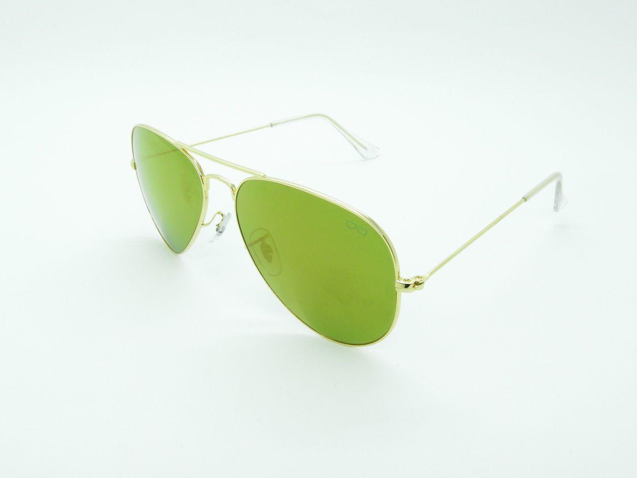 Óculos de Sol Unissex  3025 c15 Dourado 58
