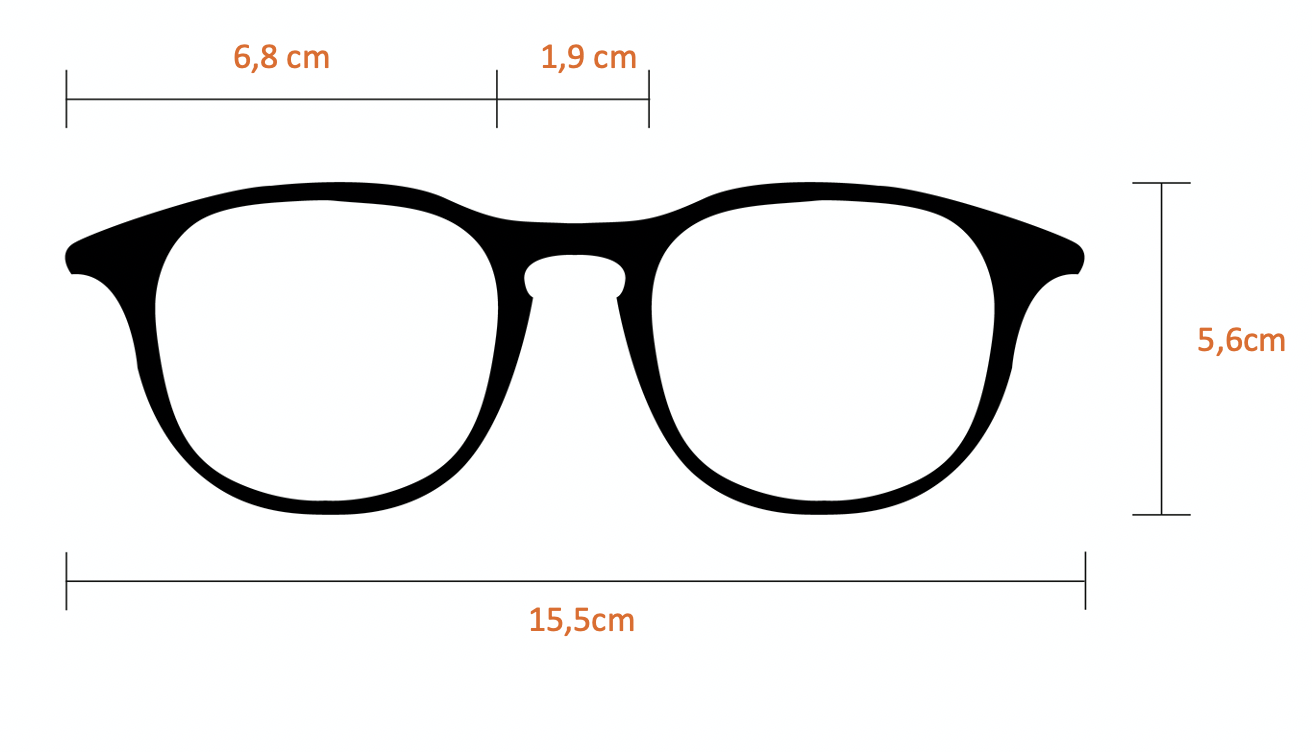 Óculos Solar Hex Marrom