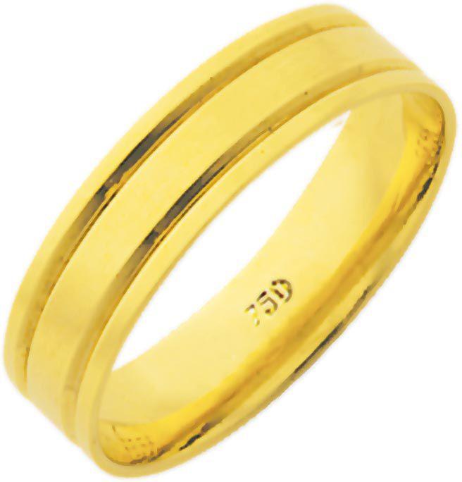 Aliança Litta de Ouro 18K ZSE56