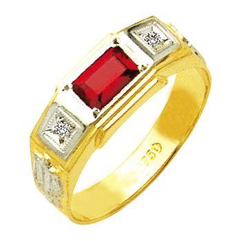 anel de formatura em ouro 18k ZANF22