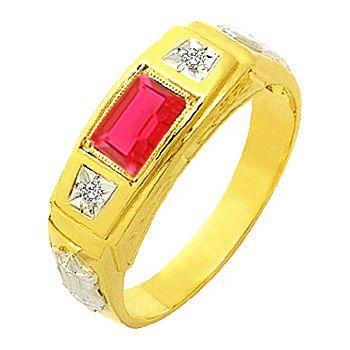 anel de formatura em ouro 18k ZANF55
