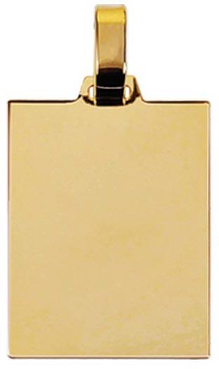 pingente de ouro quadrado ZPS05