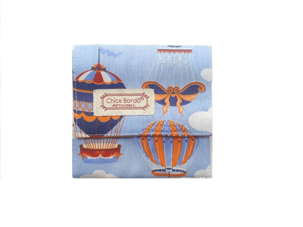 Porta Absorventes Balão Chica Bordô 1625