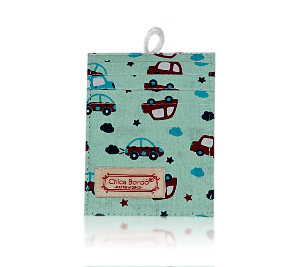 Porta Cartão Carros 10 Chica Bordô