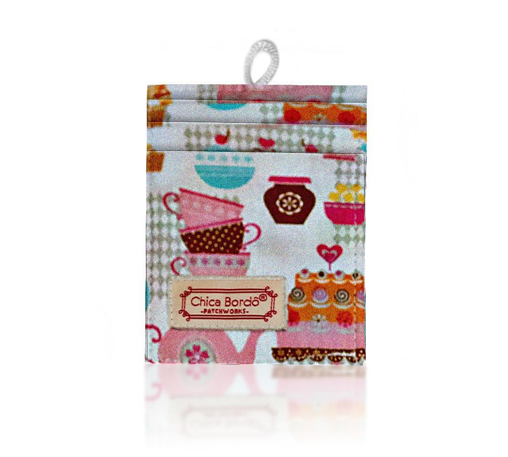 Porta Cartão Cupcake 02 Chica Bordô
