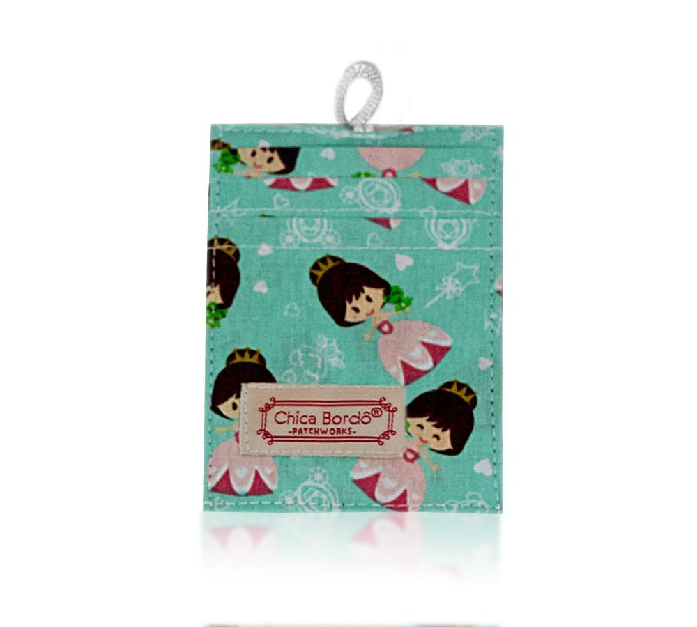 Porta Cartão Princesas 18 Chica Bordô