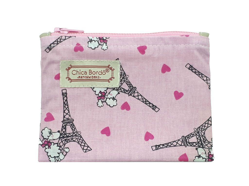 Porta Moedas Paris Chica bordô
