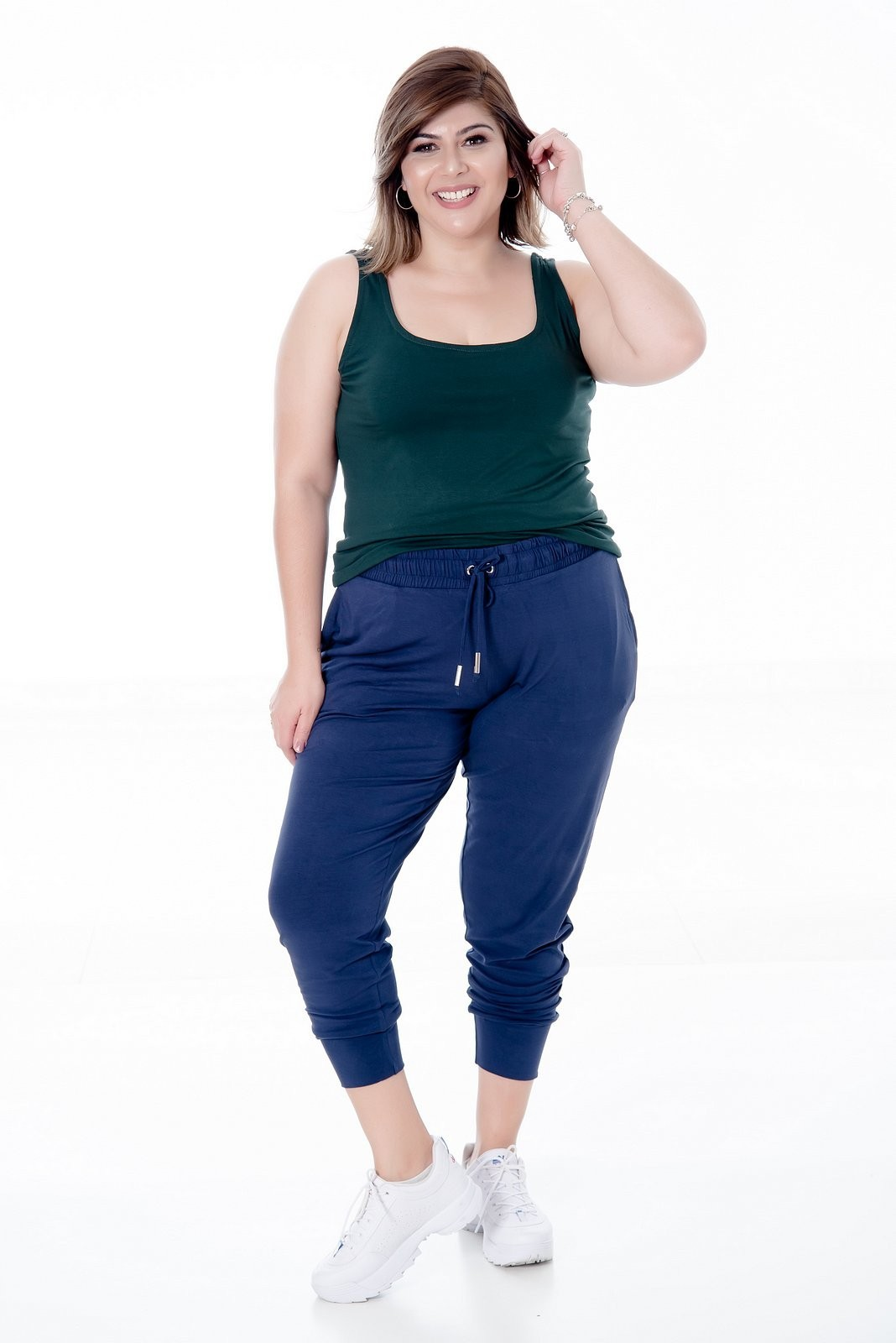 REGATA PLUS SIZE BÁSICA CORES NEUTRAS