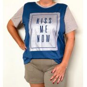 Blusa Plus Size - Kiss Me