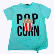 Blusa Pop Corn - Plus Size