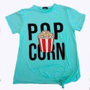 Blusa Pop Corn - Plus Size