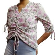 Blusa Social Floral