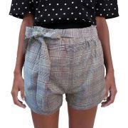 Shorts Xadrez Feminino