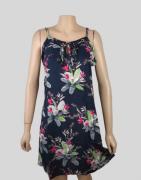 Vestido Floral com Alça Regulável