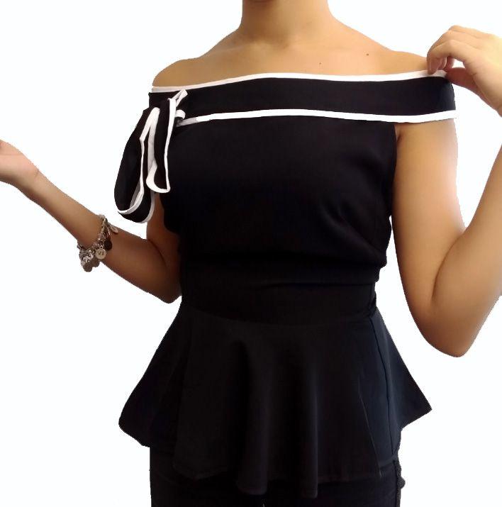 Blusa Feminina Ombro a Ombro