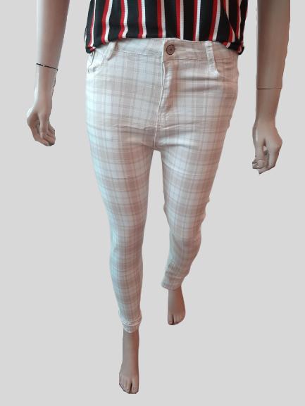 Calça Feminina Xadrez