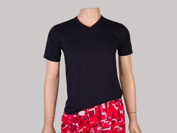 Camiseta Manga Curta Gola V