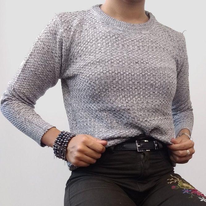 Suéter Tricot Feminino