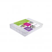 Caixa Organizadora Plástica GG Transparente 34 Divisórias