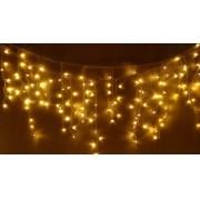 Pisca Pisca de Natal Cascata Warm 400 LEDs - LED FIXO - 10M 127V