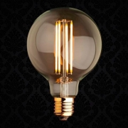 Lâmpada de Filamento Opus G95 Carbono Led 4w 2200k Bivolt