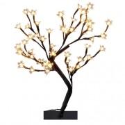 Luminária Árvore Cerejeira 48 lâmpadas Luz Morna BIVOLT