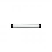 Luminária Linear Slim Linear Fina 18w 6000k Preta Skylux