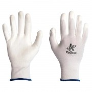 Luva de Segurança Nylon PU Proteção Tam G Kalipso (01 Par)