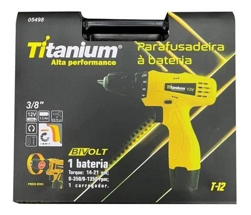 Parafusadeira à Bateria 5498 Titanium Alta Performance