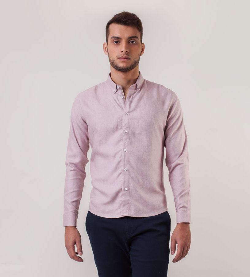 Camisa Rosa Linnen