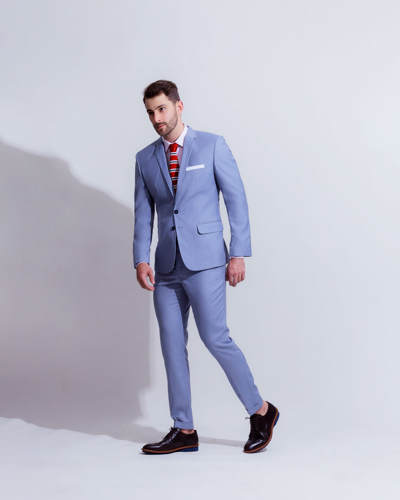 Costume Azul Claro