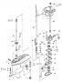 Rotor da bomba d'agua para motor de popa Mercury 3.3 HP, 4HP e 5HP.