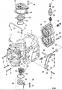 Vela de ignição para motor de popa Mercury 15 HP até 25 HP 2T  Japones.
